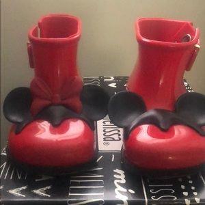 Mini Melissa Disney Rain Boots